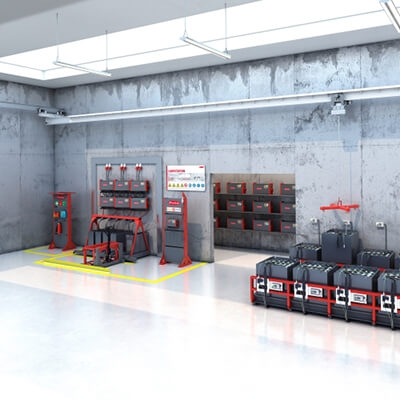 Fronius exhibited solutions for sustainable intralogistics at LogiMAT
