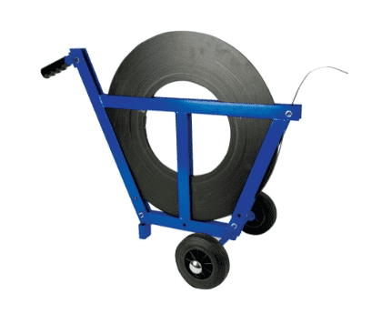 Narrow Aisle Dispenser for Steel Strapping