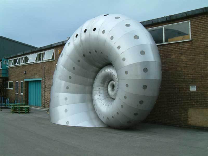 Markham Spiral Sculpture by Liz Lemon