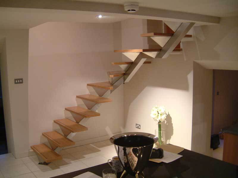 Private dwelling, bespoke stairs