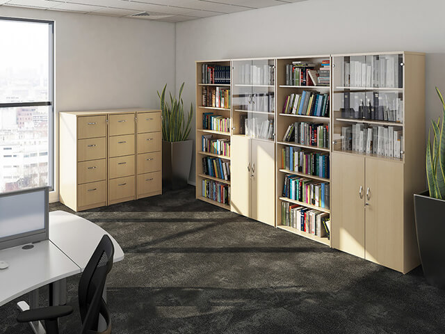 Lockable Office Storage