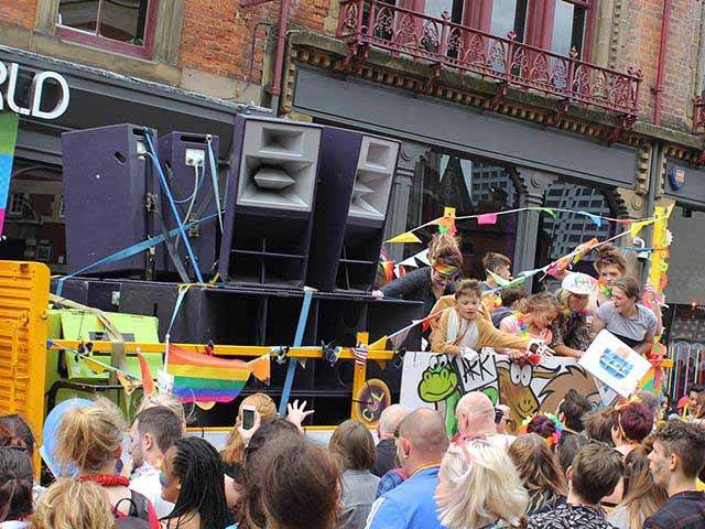 Our Funktion One Systems at Leeds Pride
