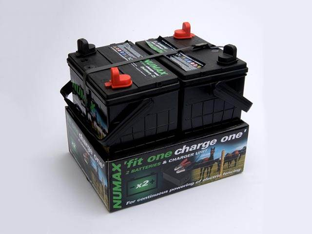 Electric Fencing Batteries and Chargers