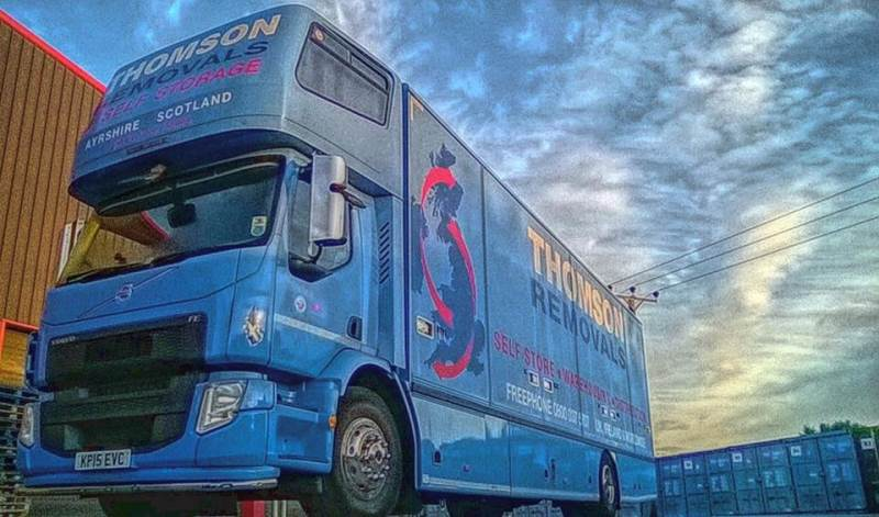 Main image for THOMSON REMOVALS AND SELF STORAGE