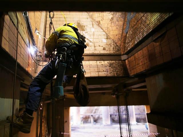 Industrial Rope Access Edinburgh