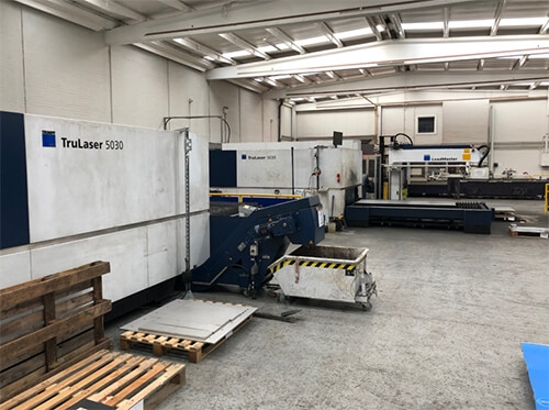 Our Investment in the latest Fibre Optic Laser cutting technology