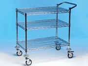 Chrome Utility Trolleys