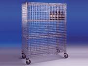 Lockable Security Stainess Steel Trolleys
