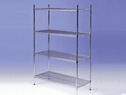 Nylon Coated Wire Shelving System
