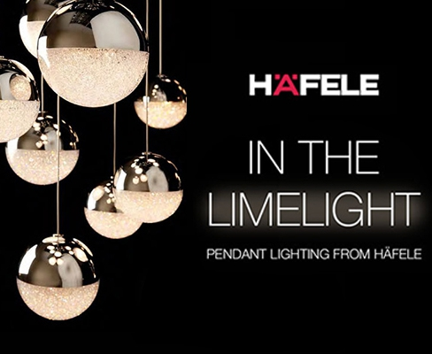 Häfele Launches New Pendant Lighting Range