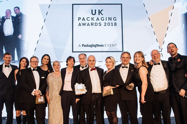 SME of the Year 2018 in UK Packaging Awards