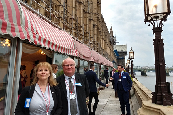 Charpak takes its vision of plastics sustainability to Parliament