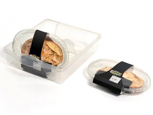 RPET Plastic Food Packaging