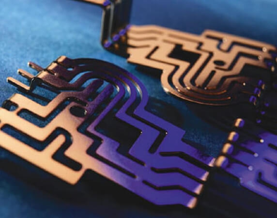 Burr-free, Stress-free, metal components achieved through photo etching