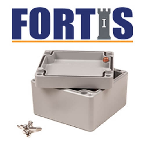 The Deltron IP68 Fortis Enclosure Range - Now available at KGA Enclosures Ltd