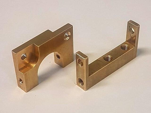 Brass Splittable Clamps