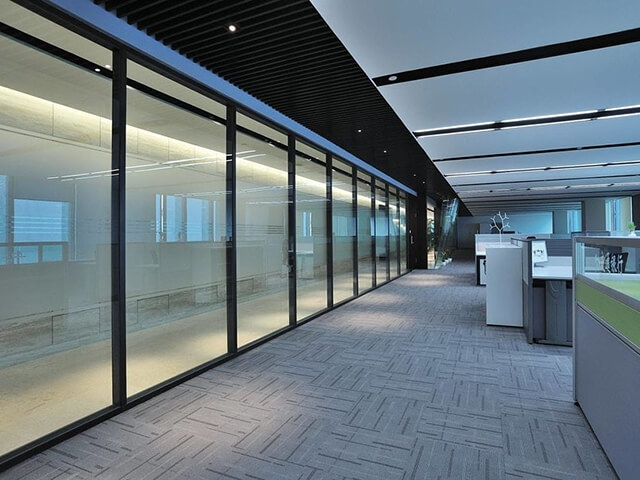 Aluminium Framed Office Partitions