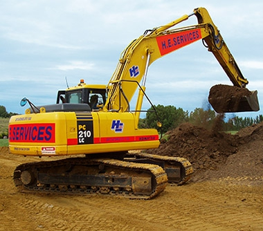Main image for H.E. SERVICES (Plant Hire) Ltd