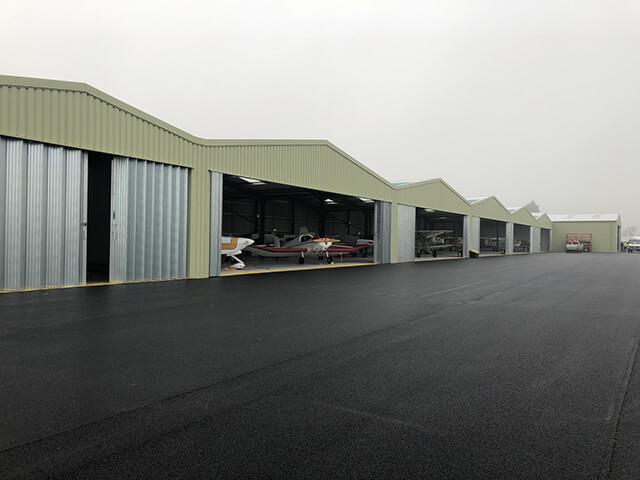 Bespoke Aircraft Hangars