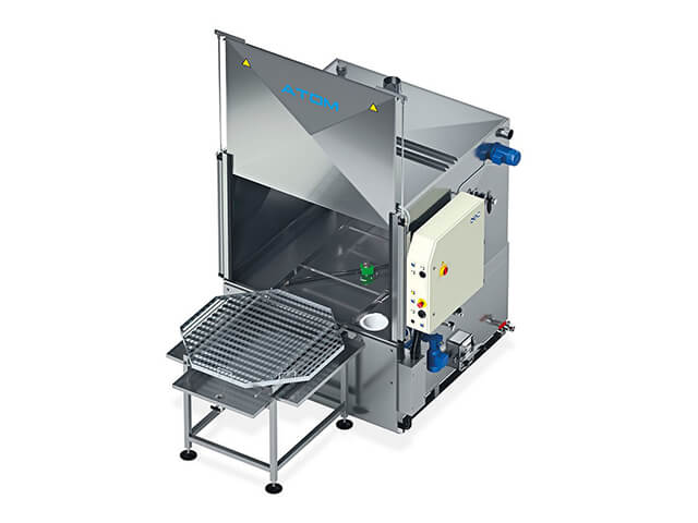 Front Loading Wash & Rinse Cleaning System