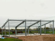 Agricultural Steel Building Construction