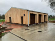 Wood Cladding on Steel Buildings
