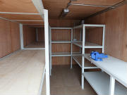 Container Workshop Conversion