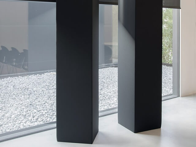 Free Standing Sound Absorption