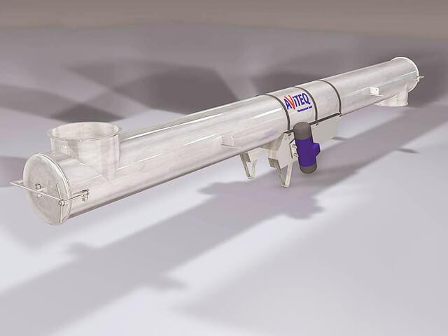 Vibratory tubular feeder