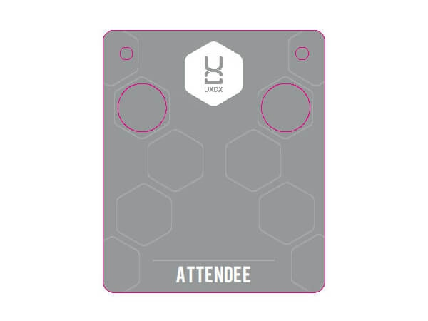 Custom Badge Card