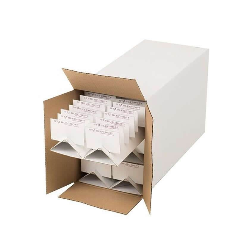 Cardboard badge trays - ideal for meetings and events