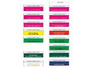 Conference ribbons for nametags and badges