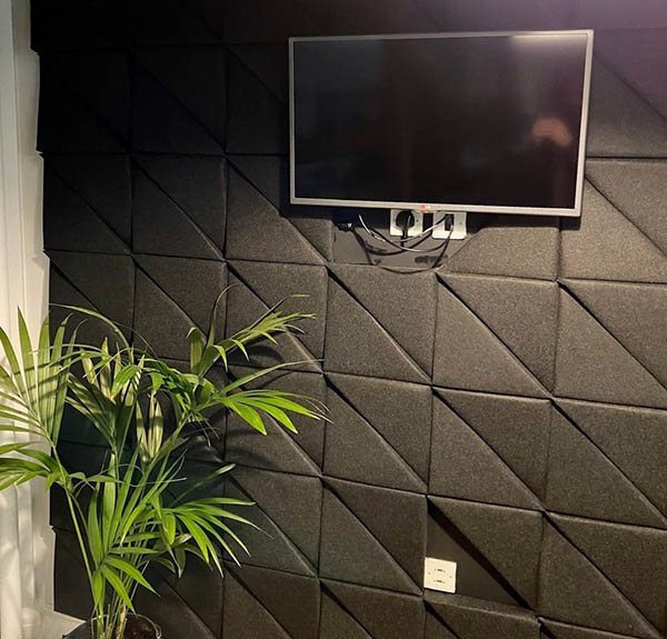 Acoustic panels for internal walls