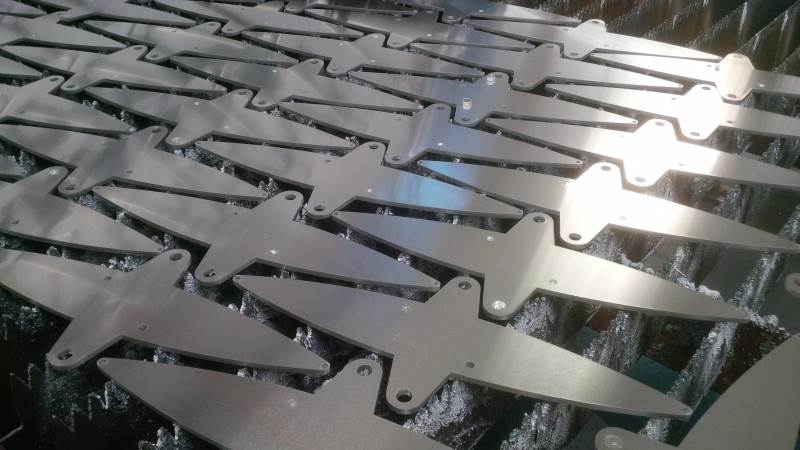 Sheet metal projects in August 2016