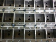 TiG welded mild steel sheet metal housings