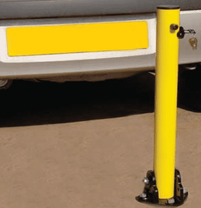 Collapsible Bollards