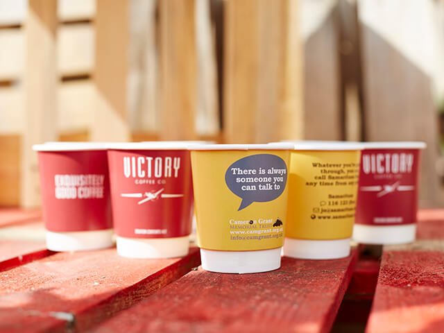 Printed Disposable Coffee Cups