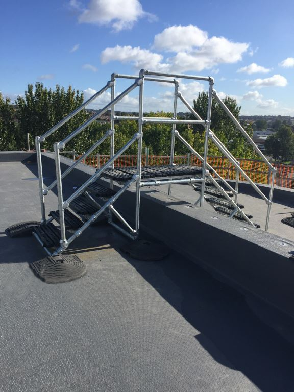 PROVIDING SAFE ACCESS ON ROOFTOPS