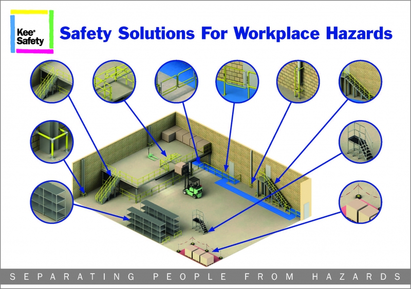 SEPARATING WAREHOUSE STAFF FROM HAZARDS