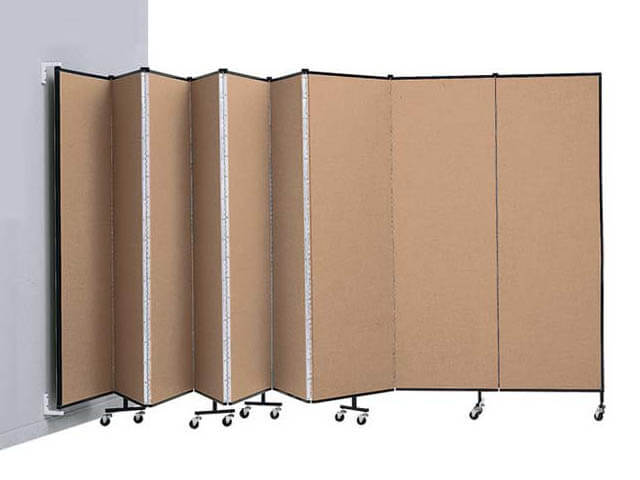 Wall Mounted Partitioning