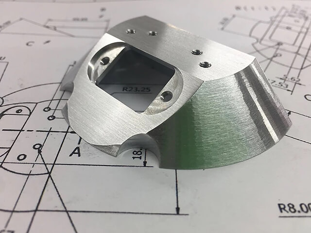 Aluminium Alloy 3D Machined