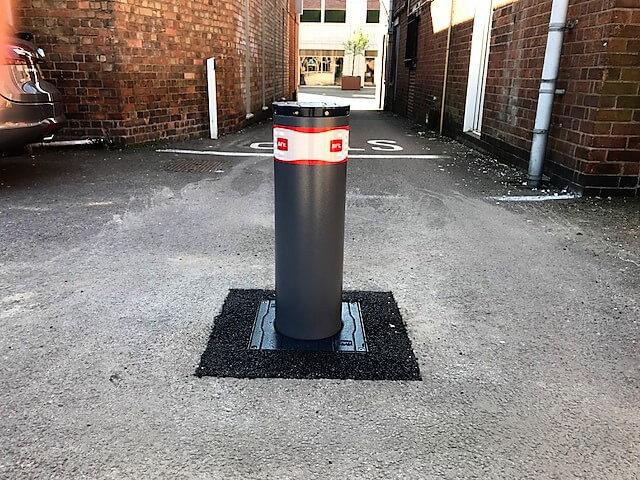 Automatic Electric Rising Bollards Warwickshire