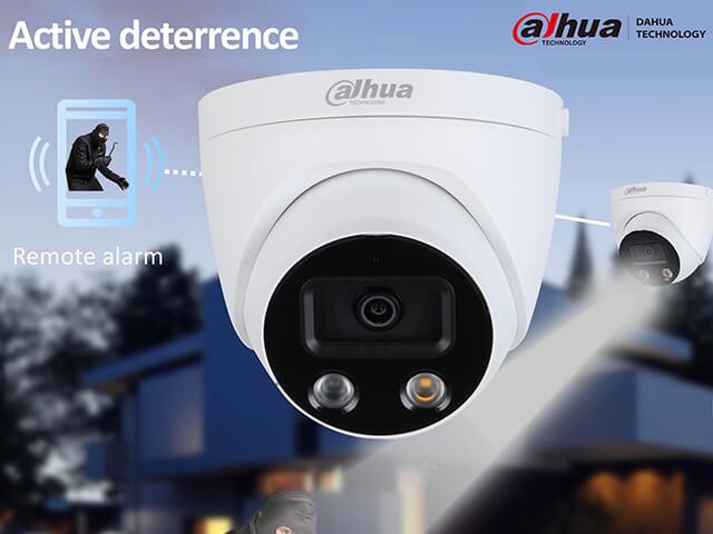 Active Deterrence Cameras