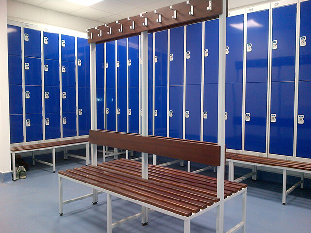 Staff Changing Room Lockers