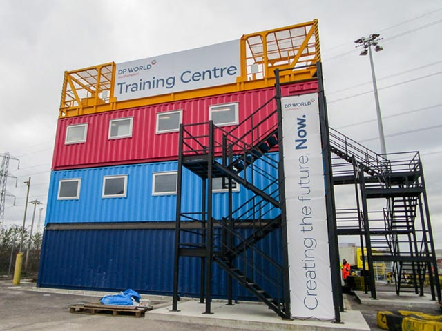 Converted Container Offices & Welfare