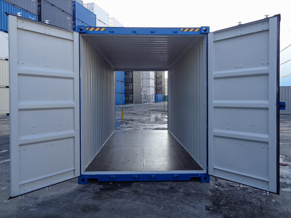 High Cube Double Door Containers