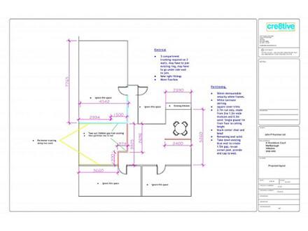 Space Planning Design Work