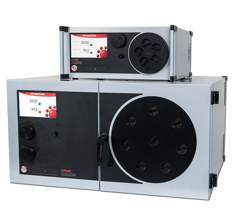 The highly regarded Rotronic HygroGen2 temperature and humidity generator