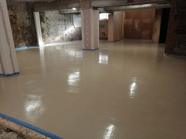 Liquid Screed - After
