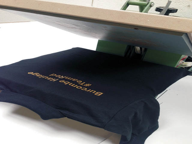 Heat Press T-Shirt Printing